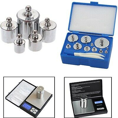 Silver Precision Balance Calibration Weight for Digital Pocket Weighing Scales