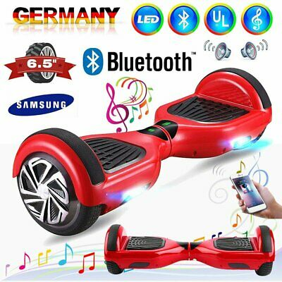 "6.5"" INCH Hoverboard Bluetooth Self Balance E-Scooter Elektroroller Smart Wheel"