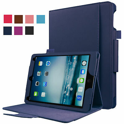 RC Smart Case for Apple iPad Air mini Pro 1 2 3 4 5, 9.7, 12.9 inch Cover PU TPU