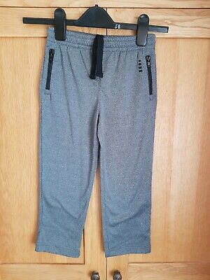 Boys Warm Grey Joggers / Trousers By Lands End. Age 4 Years. New. Rrp £20