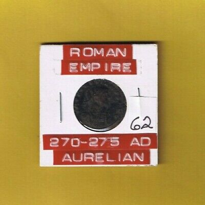 "Ancient Roman Empire coin of ""Aurelian"" 270-275 AD .. AE antoninianus .."