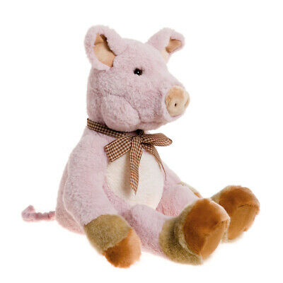 SPECIAL OFFER! Charlie Bears Bearhouse DOWNTON Pig (Brand New Stock!) RRP £30