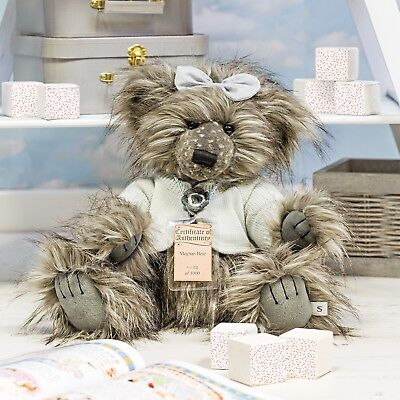 SPECIAL OFFER! 2018 Silver Tag Bears MEGHAN with GIFT BAG (RRP £70)