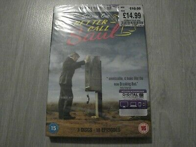 ( Better Call Saul ) - The Complete First Series One - Season 1 - Dvd Set - New