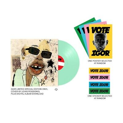 PRE-ORDER Igor (Mint Vinyl LP Limited Pack) - Tyler, The Creator ALTERNATE COVER