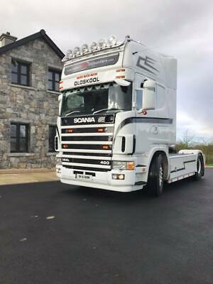 **Scania 144 460 Show Truck**