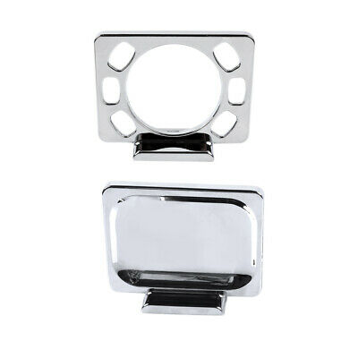 Soap Dish Holder Toothbrush Tumbler Holders Wall Mount Chrome Plated Finish