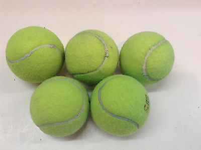 Select 5-10-25-50 Dead Tennis Balls Dog Toys Fetch Catch bottom chairs walkers