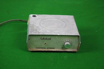 Gallenkamp Magnetic Stirrer Variable Speed Laboratory Lab Equipment