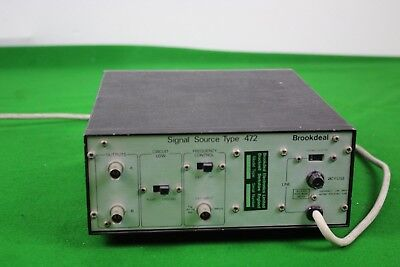 Brookdeal Signal Source Type 472