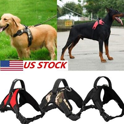 No Pull Harness For Small Medium Large Dog Adjustable Pet Vest 600D Nylon Collar