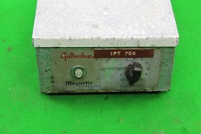 Gallenkamp Magnetic Stirrer Variable Speed Laboratory Equipment SS610