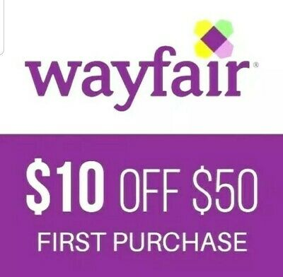$20 off $50 Wayfair Joss & Main coupn *fast e-delivery*  😁
