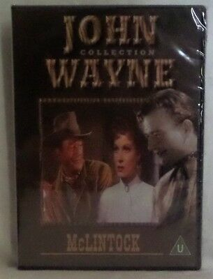 McLintock.  John Wayne Classic Western UK DVD NEW AND SEALED.