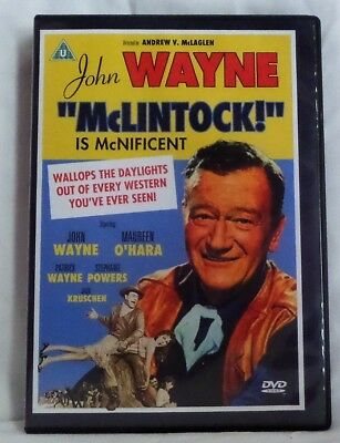 McLintock! Is McNificent [UK DVD] John Wayne, Maureen O'Hara.