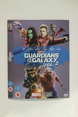 Guardians of the Galaxy Vol. 2 DVD  Slip Sleeve Collectable SLEEVE ONLY Marvel