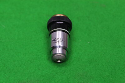 Carl Zeiss Microscope Objective 40/0.65 160/0.17 in Case