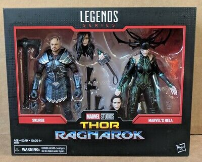 Marvel Legends 80th Anniversary Skurge and Hela Figures Thor Ragnarok In Stock