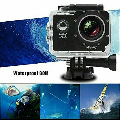 Pro Cam  4K 16Mp Hdmi Sport Wifi Ultra 30M Action Camera Subacquea