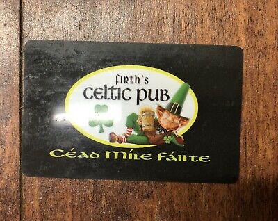 Firth's Celtic Pub Gift Card - $25 Mail Delivery