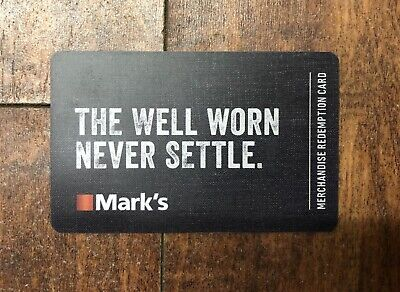 Mark's Gift Cards - Mail Delivery