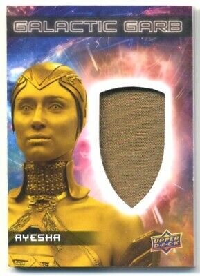 2017 Upper Deck Guardians of the Galaxy- Relic- Single- Ayesha- SM-16