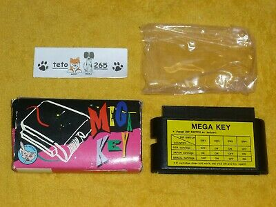 MEGA KEY 2 for Sega Mega Drive - Play Genesis NTSC JAP Games on PAL