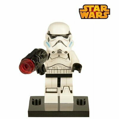 Clone Trooper mini figurine personnage Star Wars Stormtrooper + Arme