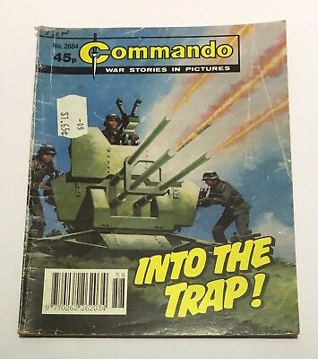 Commando War Comics #2684 - Into The Trap! - 1993