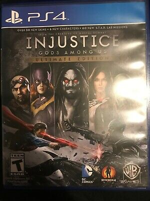 Injustice: Gods Among Us -- Ultimate Edition (Sony PlayStation 4, 2013)