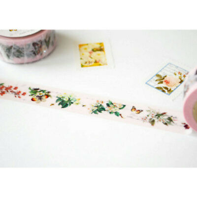 MT washi  tape Antique Flower Scrapbook Journal Planner DIY Gift Wrapping