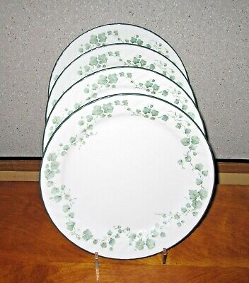 Corelle Callaway Ivy Dinner Plates Lot of 4 Excellent!