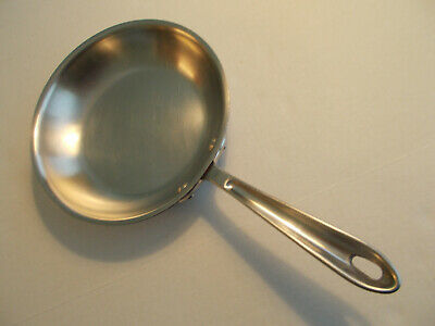 """ALL CLAD 8-1/2"""" Stainless Steel 3 Ply Kitchen Fry / Grill Skillet Pan"""