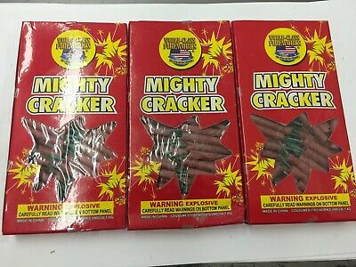 World Class Firecracker Label  Mighty Cracker 3 Packs Of 100 Labels
