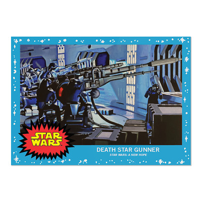 2019 Topps Living Set Star Wars Card #8 Death Star Gunner Pr 1922 Ready To Ship