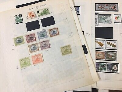 PAPUA 1916-1973 Old mint stamps Collection 100+ most MNH