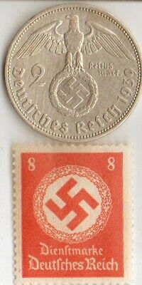 *rare-WW2 *german STAMPS+ SILVER EAGLE coins(.900%,+625%)+*egyp.*king 'TUT' coin
