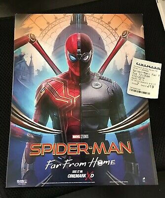 Marvel Studios Spider-Man Far From Home 8 x 10  Movie Theater Promo Poster MINT!