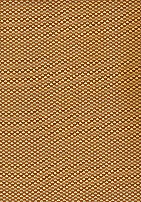 SPEAKER CLOTH Antique Radio Fabric Vintage Grill Repair #GB7 - Gold & Bronze REV