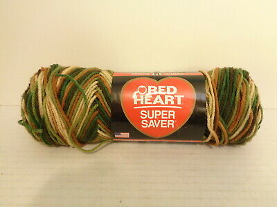 Red Heart E300.0961 Super Saver Yarn Woodsy