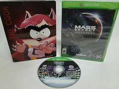 South Park - The Fractured But Whole Gold Edition SteelBook w/ Mass Effect Bonus