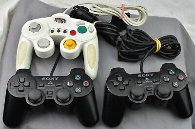 Sony PlayStation 2 PS2 DualShock 2 Controller Official Genuine OEM LOT GAME CUBE