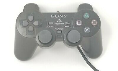 PS2 Controller Genuine Official SONY! OEM SCPH-10010 Analog Playstation (BLACK)