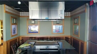 Japanese Steak House Equipment PKG - Larkin Range Hoods, Teppan-Yaki Griddles