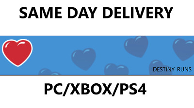 Destiny 2 System Of Peace Emblem Code IN HAND SAME DAY DELIVERY (PS4/XBOX/PS4)