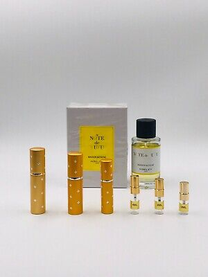 Heeley NOTE DE YUZU 2ml 3ml 4ml 5ml 10ml EDP Parfum Spray samples NICHE RARE