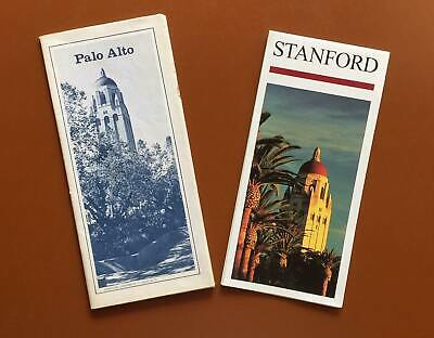 Map of Stanford University Campus/Palo Alto & Vicinity