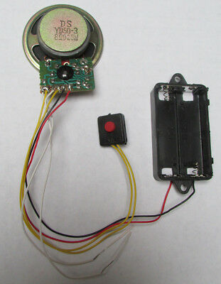 Trigger/Timekeeping Sound Module  - Cuckoo Bird, 16 Melody, Train or Westminster