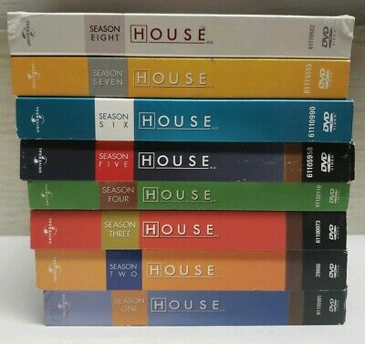 HOUSE MD The Complete Series Seasons 1-8 DVD Box Set