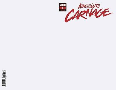 Absolute Carnage #1 (Of 4) Blank Variant Ac (07/08/2019)